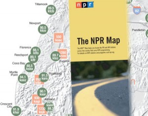 NPR Map, Blue Ribbon General Store